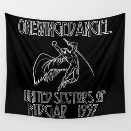 Led Highwind: One-Winged Angel Wall Tapestry
