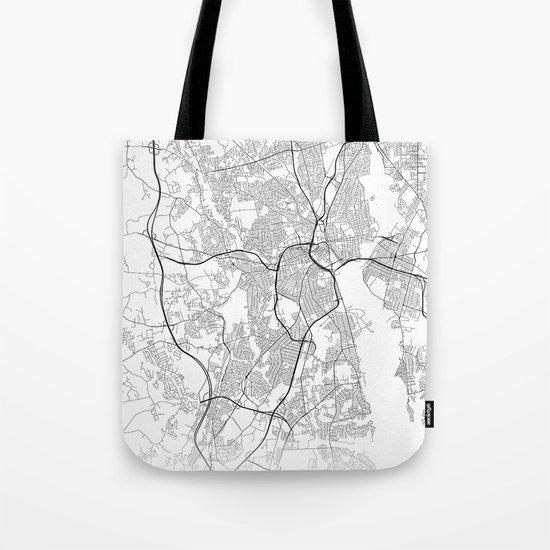 Minimal City Maps - Map Of Providence, Rhode Island, United States by valsymot