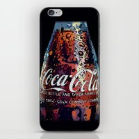 coca cola iPhone & iPod Skins featuring The Real.... by LesImagesdeJon