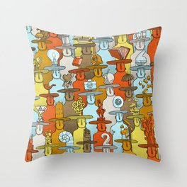 Illusionist Congress Throw Pillow