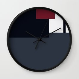 American Coot Color Pallet Wall Clock