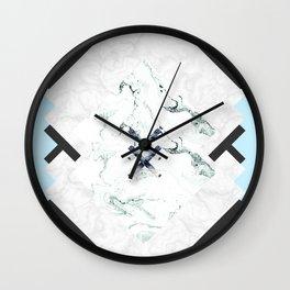 Scandinavian Marble Wall Clock