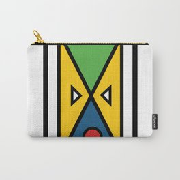 African colorful prints of geometry Carry-All Pouch