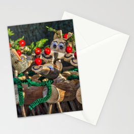 Red Noses. Stationery Cards
