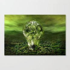 The old bulb culture Canvas Print