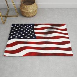 American Flag USA Rug