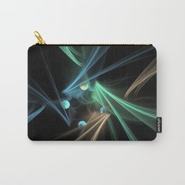 Fractal Convergence Carry-All Pouch