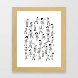 Dance Dance 1 Framed Art Print