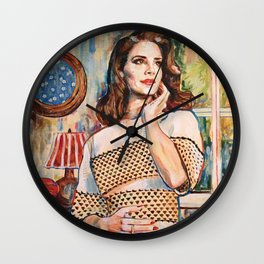Lana Rey Wall Clock