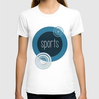 sports T-shirts featuring SPORTS by VIAINA DESIGN