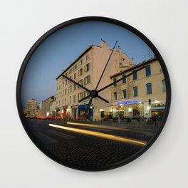 Marseille Dusk Wall Clock