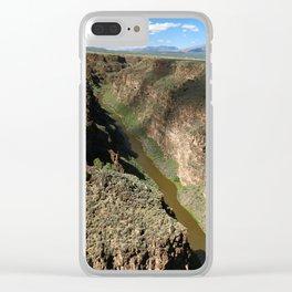 Rio Grande Gorge Clear iPhone Case
