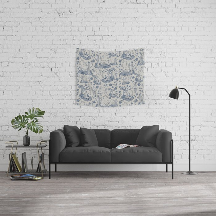 an-toile-lite Wall Tapestry
