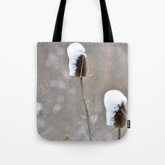 Snow Frosting Tote Bag