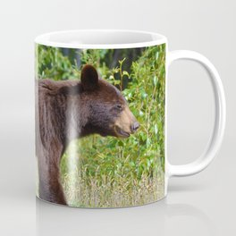 The happiest bear in Jasper National Park Coffee Mug