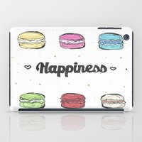 macaroons iPad Cases featuring Macaroons by AshleyRose
