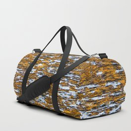 Moss on wood Textures 12 Duffle Bag