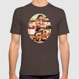 Glitch Pin-Up Redux: Emma T-shirt