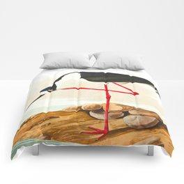 Long-legged Avocet Comforters