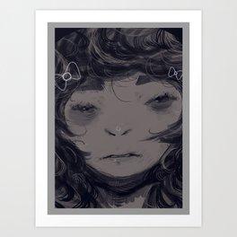 Beaten Shark Art Print