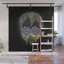 The mask we wear is one Wall Mural