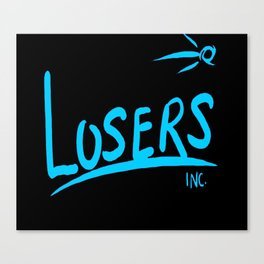 OnBLK Losers Inc. III Canvas Print