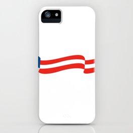 Vote 2020 Trump print iPhone Case