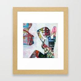 Here 45 Framed Art Print