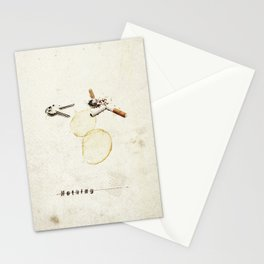 Nothing (...) | Collage Stationery Cards