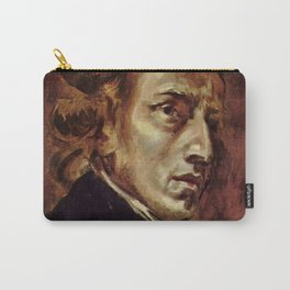The Portrait of Frédéric Chopin by French artist Eugène Delacroix (1838) Carry-All Pouch