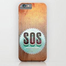 S O S iPhone 6s Slim Case