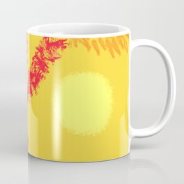 Red Tree, Hot Yellow Sun Coffee Mug