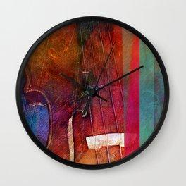 Violin Abstract One Wall Clock