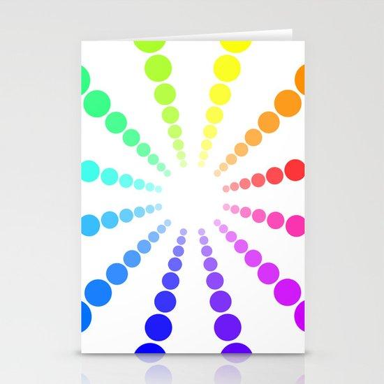 dots & circles o2 Stationery Cards