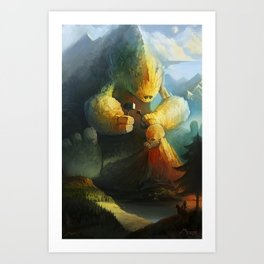 Mountain Birth Art Print