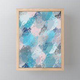 Abstract pattern 67 Framed Mini Art Print