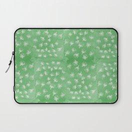 flakes of Pohutukawa- green Laptop Sleeve