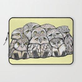 Baby Owls Pile Laptop Sleeve