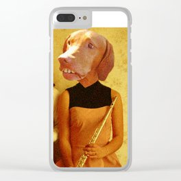 Music Hounds Clear iPhone Case