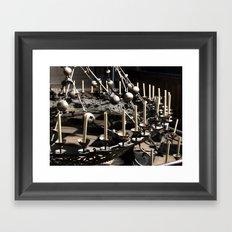 Crown Of Light Framed Art Print