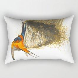 Barn Swallow Bird Rectangular Pillow