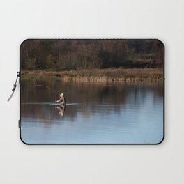 Gone Fishing Laptop Sleeve