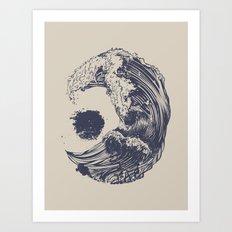 Swell Art Print