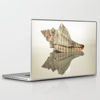 seashell Laptop & iPad Skins featuring Seashell by Patrik Lovrin Photography