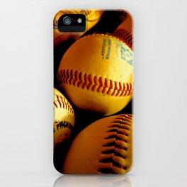 Baseball Days iPhone Case