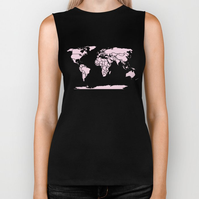 Color My World ~ Pink Biker Tank