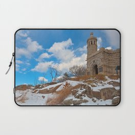 Winter Gettysburg Castle Laptop Sleeve