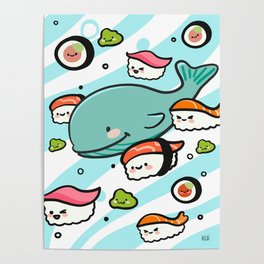 Sushi Bunch Poster