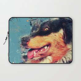 australian shepherd dog Laptop Sleeve