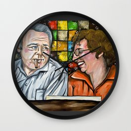 Archie & Edith Bunker  Wall Clock